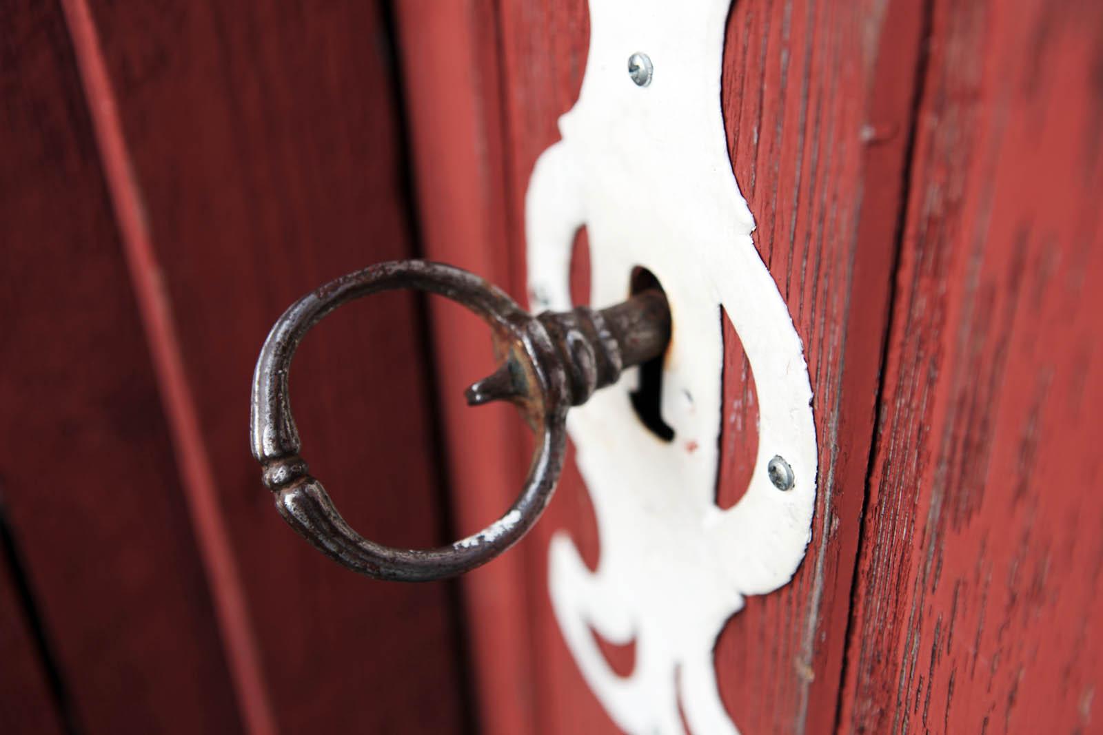 Nøkkel i dør